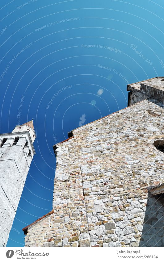 City Architecture Religion and faith Stone Building Facade Church Change Hope Tower Italy Protection Manmade structures Belief Historic Monument