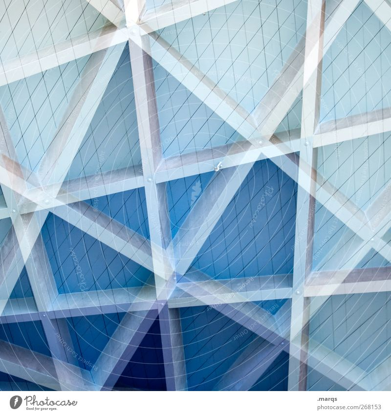 gradient Style Wood Line Stripe Exceptional Crazy Blue Double exposure Colour photo Exterior shot Close-up Experimental Abstract Pattern Structures and shapes