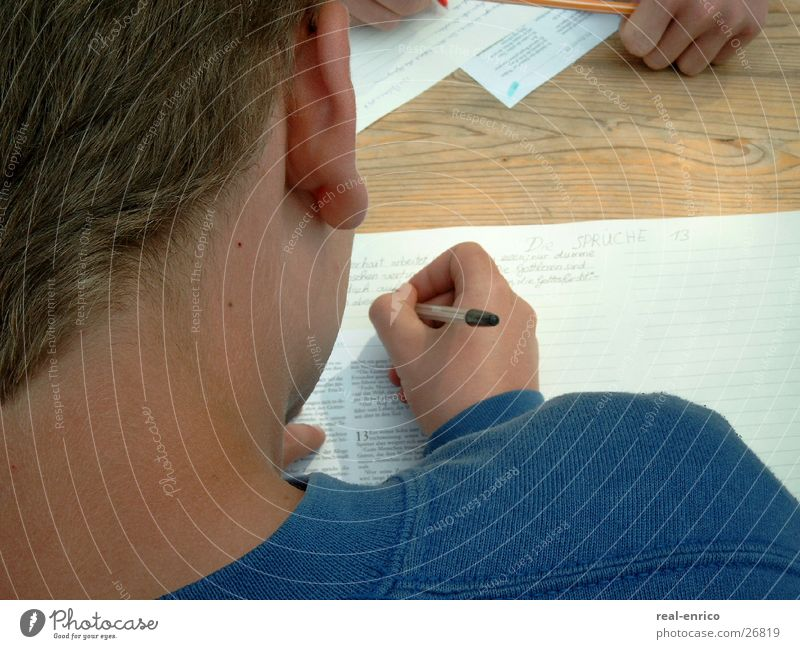 Man Leaf Boy (child) Write Pen Letter (Mail) Child Ballpoint pen