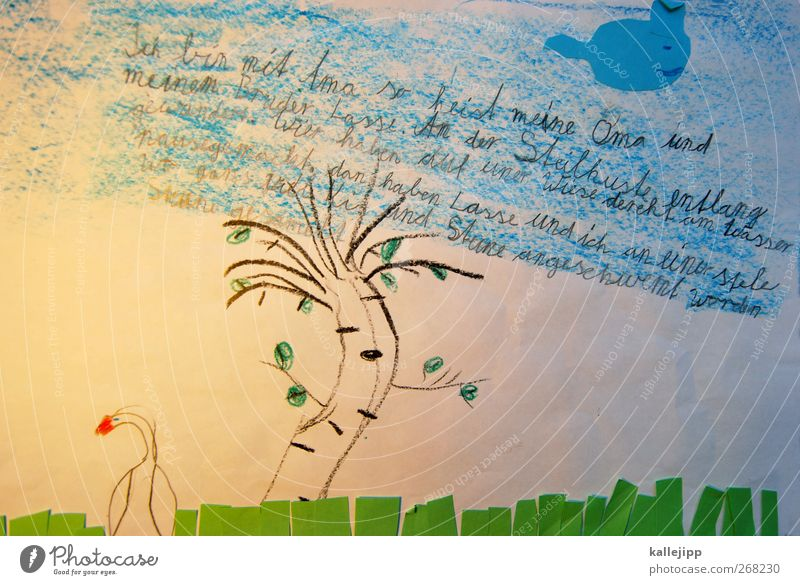 Heaven Tree Animal Life Grass School Infancy Characters Study Education Write Grandmother Parenting Swan Novella Lessons