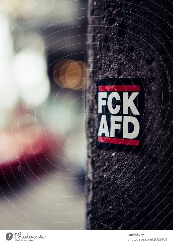 Against hate with lots of bokeh Berlin Stone Concrete Town Humanity Solidarity Truth Judicious Integrity Fairness Defiant Politics and state Democracy
