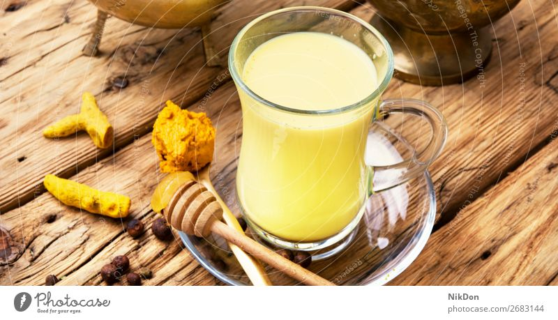 Turmeric Golden milk turmeric medicine spice powder golden drink yellow remedy indian cinnamon healthy tea beverage detox herbal antioxidant therapy curcumin