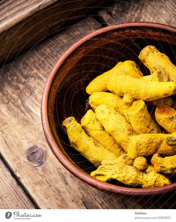 spice root Curcuma curcuma raw turmeric yellow medicine herbal ingredient dry flavor closeup indian healthy aroma oriental golden seasoning aromatic tumeric