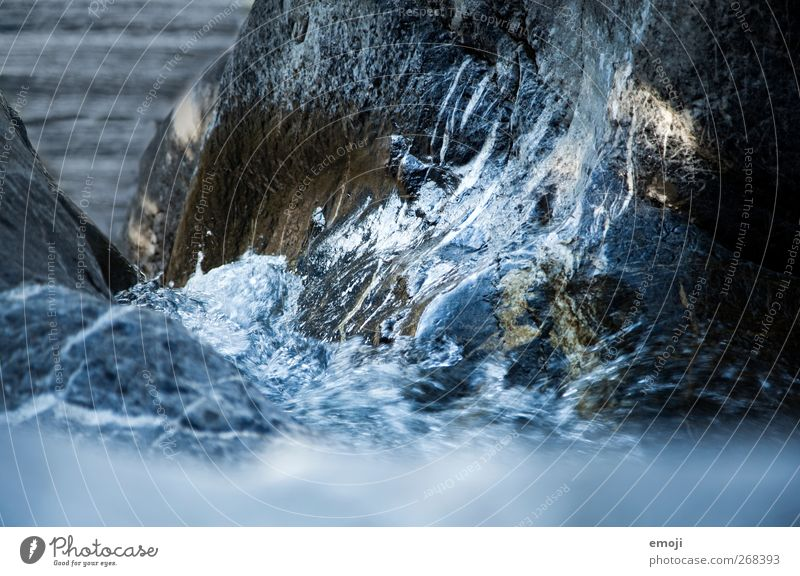 waterfall Environment Nature Elements Earth Water Brook River Waterfall Cold Blue Rock formation Stone Colour photo Exterior shot Deserted Day Light Shadow