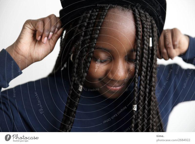 Human being Beautiful Joy Girl Life Warmth Feminine Happy Hair and hairstyles Wild Happiness Creativity Joie de vivre (Vitality) Perspective Curiosity