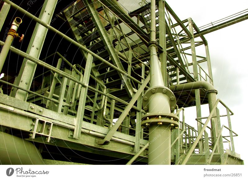 Crazy Industry Stairs Technology Steel Screw Grating Gravel pit