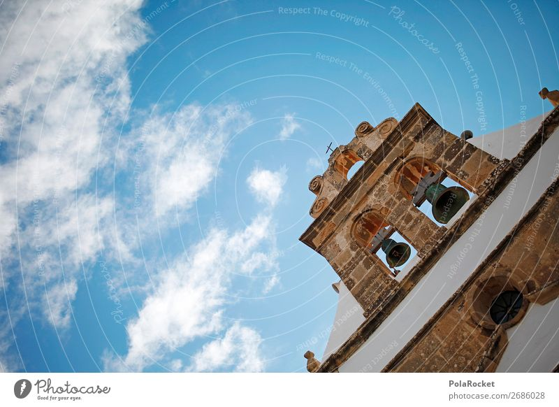 #AS# Glockenspiel Work of art Village Church Might Church bell Sky Belief Religion and faith Ancient Wall (barrier) Bell tower God House of worship
