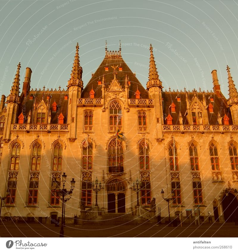 City Hall Bruges Architecture Culture Brugge Belgium Flanders Town Downtown Old town Marketplace City hall Manmade structures Building Wall (barrier)
