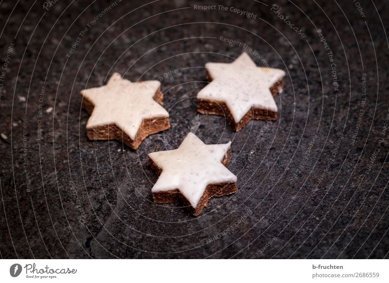 Christmas & Advent Dark Food Fresh To enjoy Shopping Star (Symbol) Sign Baked goods Candy Select Ease Boredom Baking Cookie Dough