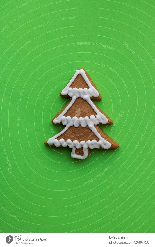 Christmas & Advent Green Tree Feasts & Celebrations Happiness Crazy Paper Delicious Baked goods Candy Select Christmas tree Diet Middle Baking Dough