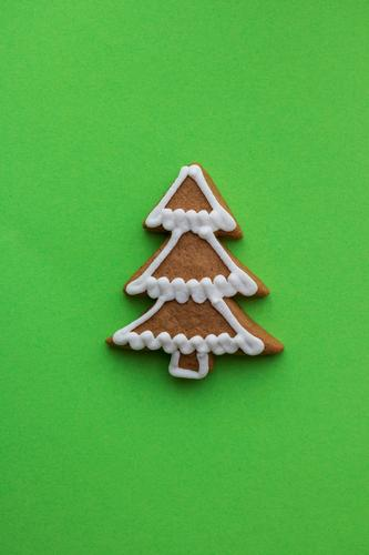 oh fir tree Dough Baked goods Candy Feasts & Celebrations Christmas & Advent Tree Paper Select Happiness Crazy Green Gingerbread Structures and shapes