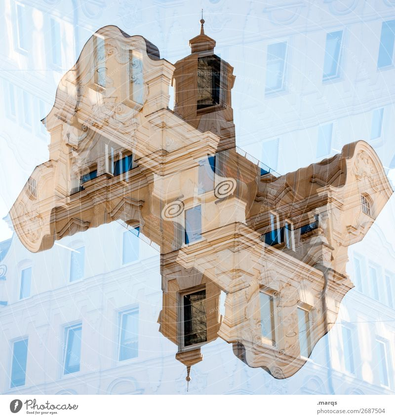 baroque Style Sky House (Residential Structure) Manmade structures Building Architecture Baroque Facade Old Esthetic Exceptional Historic Crazy Arrangement