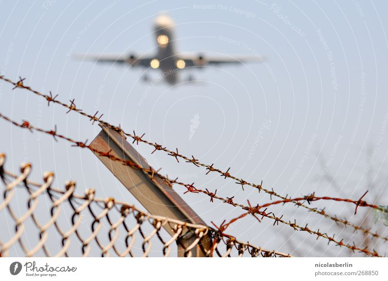 Wall (building) Happy Wall (barrier) Exceptional Transport Airplane Success Aviation Infinity Airplane takeoff Fence Airport Airplane landing Gigantic Airfield