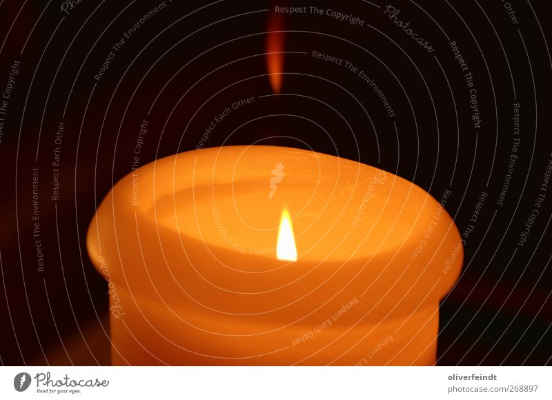 candle Senses Relaxation Calm Candle Illuminate Warmth Red Black Moody Contentment Optimism Safety (feeling of) Break Stagnating Flame Yellow Orange
