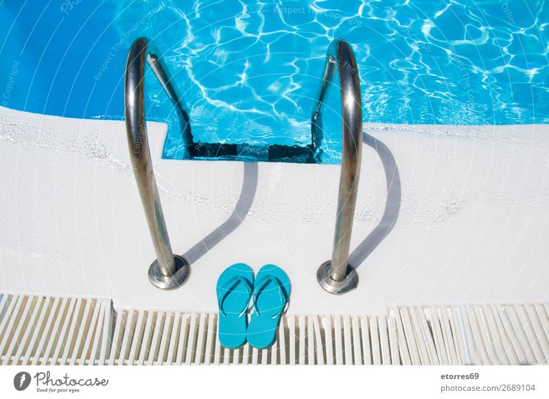 access to the entrance of a pool Swimming pool Summer Water Refreshment Blue Clean Vacation & Travel Vacation destination Beach vacation Relaxation Luxury