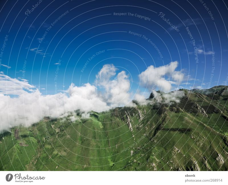 Sky Nature Vacation & Travel Clouds Environment Landscape Mountain Rock Elements Hill South America Peru Andes