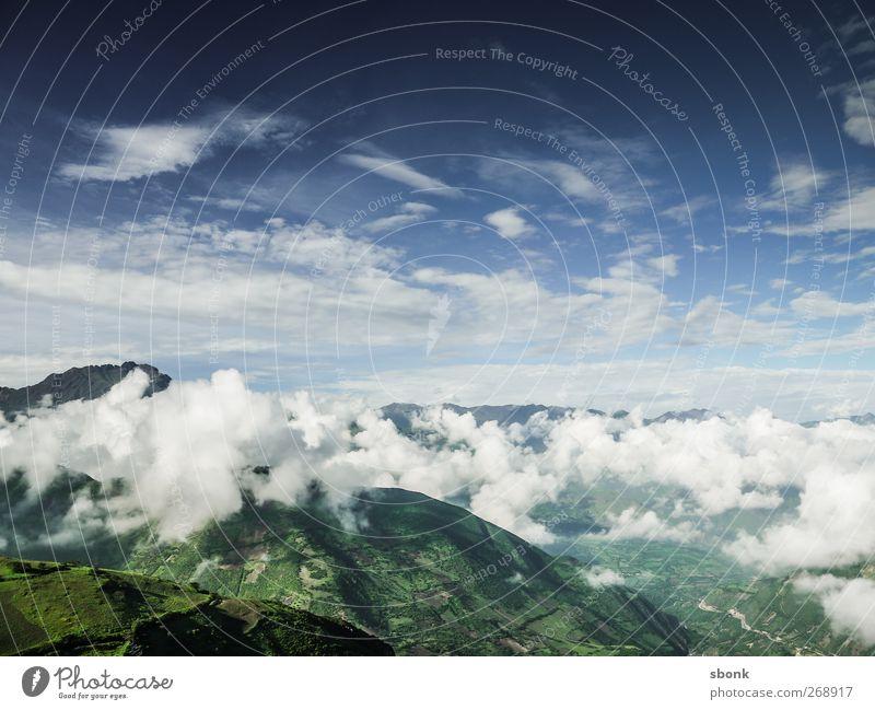 Cajam > Trujilo #2 Environment Nature Sky Clouds Horizon Hill Rock Alps Mountain Peak South America Andes Peru Colour photo Exterior shot