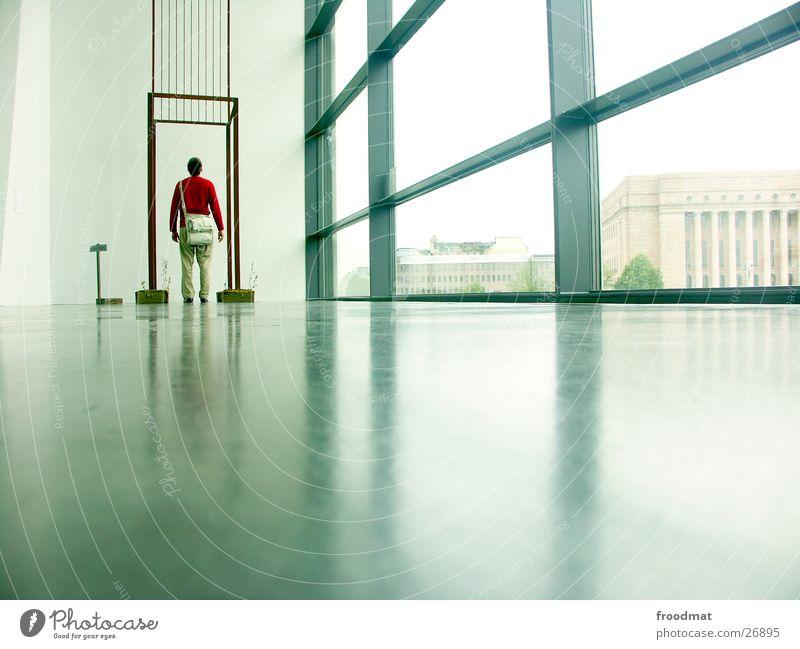 Window Art Large Floor covering Trade fair Exhibition Finland Release Helsinki