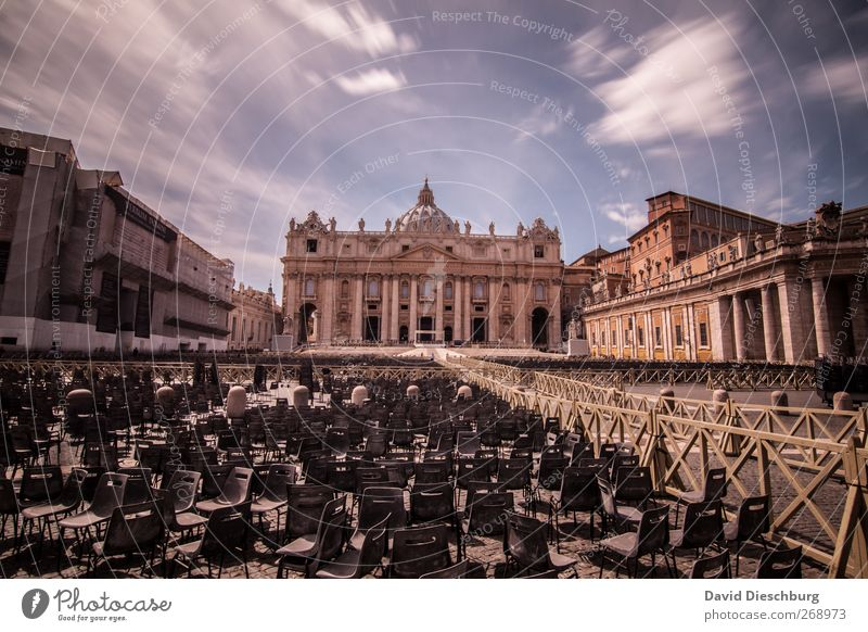 Vacation & Travel Religion and faith Brown Chair Italy Manmade structures Historic Event Summer vacation Holy Landmark Downtown Seating Dome Tourist Attraction
