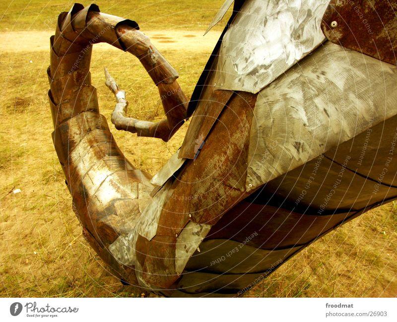 Summer Brown Metal Art Rust Sculpture Tails Music festival Photographic technology