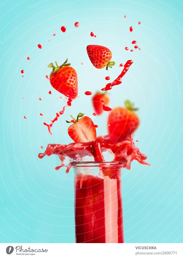Healthy Eating Summer Red Food Background picture Style Fruit Design Nutrition Glass Table Fitness Beverage Wellness Athletic