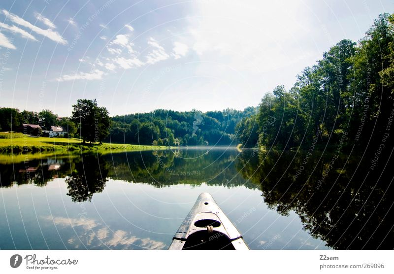 oh you beautiful Bavaria Vacation & Travel Adventure Summer Nature Landscape Water Sky Sun Lake River Relaxation Esthetic Calm Leisure and hobbies Idyll