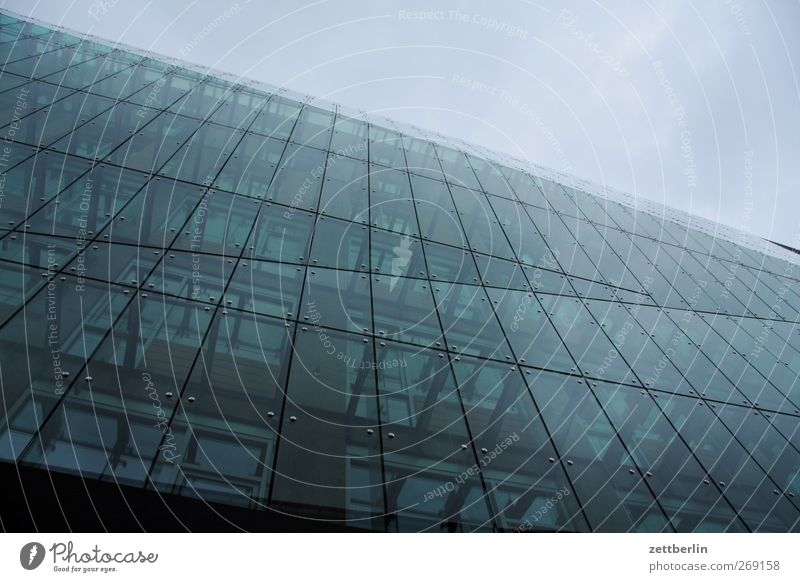 glass façade Downtown Skyline Palace Manmade structures Building Architecture Wall (barrier) Wall (building) Facade Window New Glas facade Cladding Colour photo