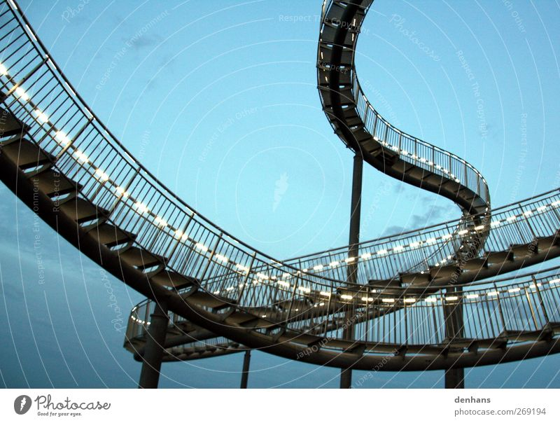 brood of vipers Steel processing Art Sculpture Sky Bridge Stairs Tourist Attraction turtle and dragon Snake String Knot Bow Movement Going Esthetic Exceptional
