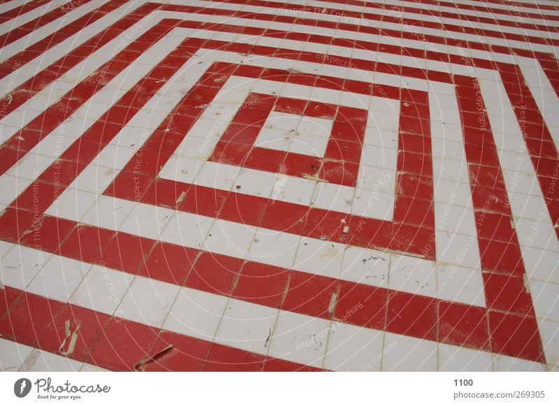White Wall (building) Architecture Lanes & trails Stone Wall (barrier) Line Park Esthetic Floor covering Cool (slang) Sign Tile Sharp-edged Ornament