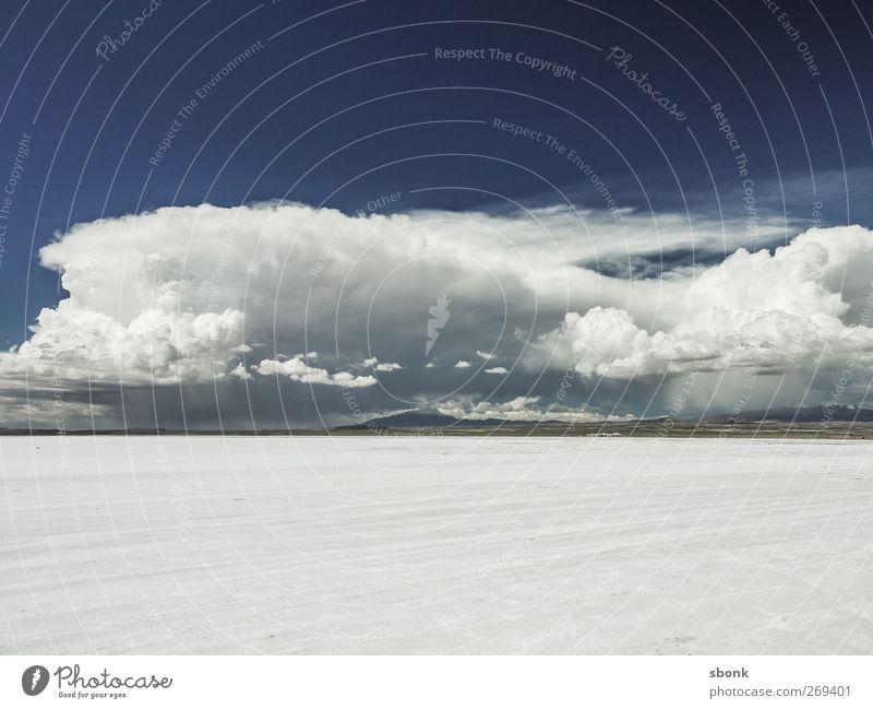 Uyuni Cloud Sphere Environment Nature Landscape Elements Sky Clouds Storm clouds Climate Climate change Bad weather Hill Rock Lake Hiking Salt  lake Bolivia