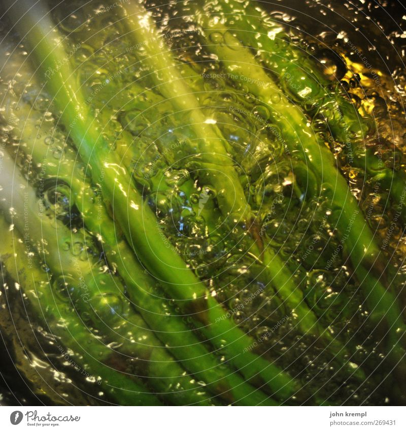 frame of mind Asparagus Asparagus season Asparagus stew Water Pot Delicious Thin Gray Green Anticipation Hospitality Living or residing Nutrition Cooking bubble