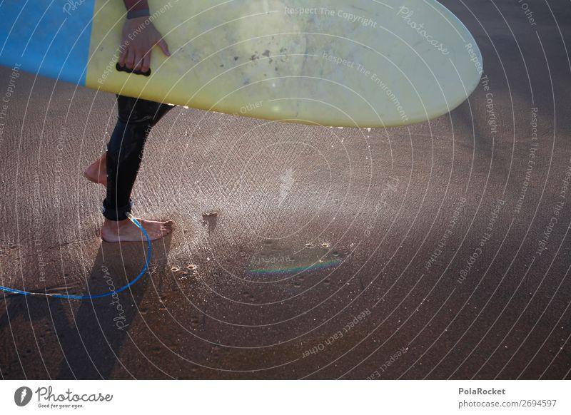 #AS# walking board 1 Human being Esthetic Surfing Surfer Surfboard Surf school Vacation & Travel Vacation photo Vacation mood Aquatics Athletic Sports