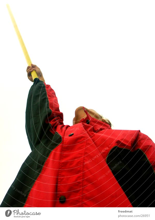 Arm Jacket Diagonal Athletic Electricity pylon Rod Extreme sports Ambitious