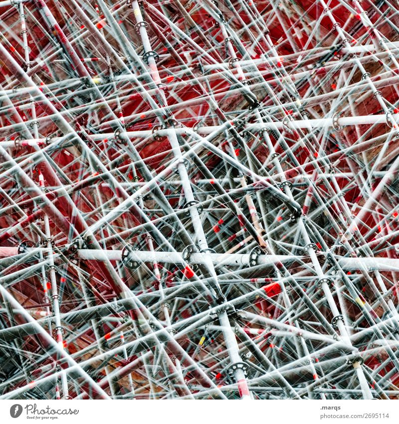 Style Exceptional Design Line Crazy Perspective Uniqueness Manmade structures Many Irritation Double exposure Scaffold