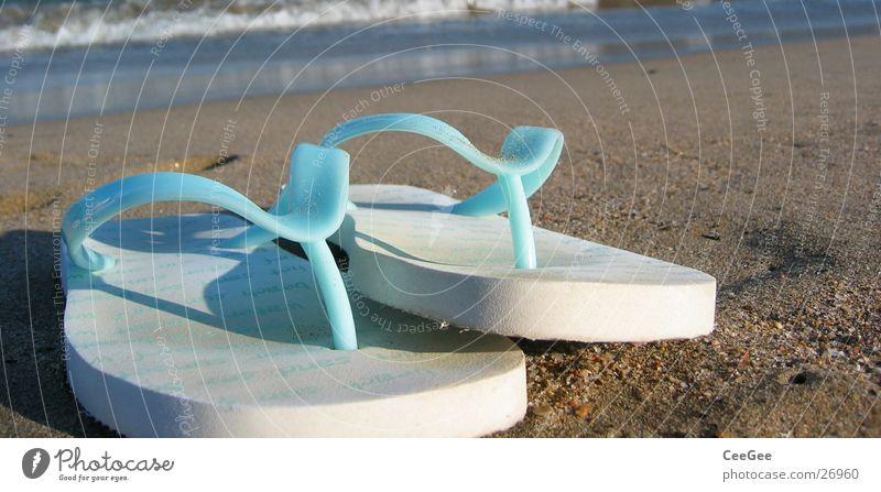 White Ocean Blue Beach Sand Footwear Leisure and hobbies Things Spain Flip-flops Shuffle