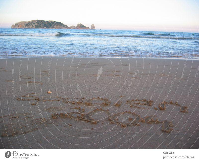 Water Ocean Beach Sand Waves Europe Island Characters Mediterranean sea