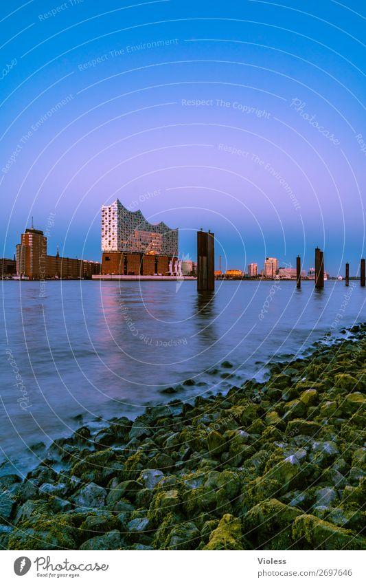 Elphi Elbe Philharmonic Hall River bank Hamburg Harbour Tourist Attraction Landmark Port City