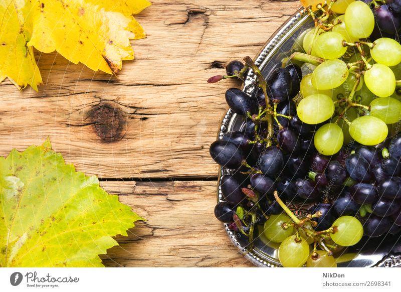 Grapes on a tray grape Healthy Summer Natural Vine Sweet Juicy Heap Leaf Vineyard Fruit Rural Fresh Winery Eating Group Harvest Field Food Juice grapes