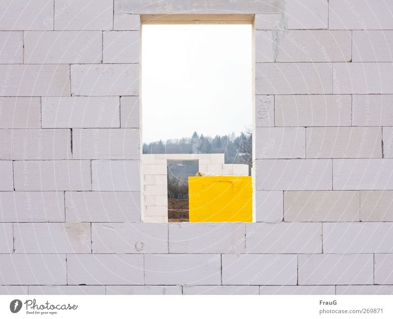 White City Yellow Window Wall (building) Stone Wall (barrier) Building Beginning Living or residing Planning Brick Build Expectation Sharp-edged Anticipation