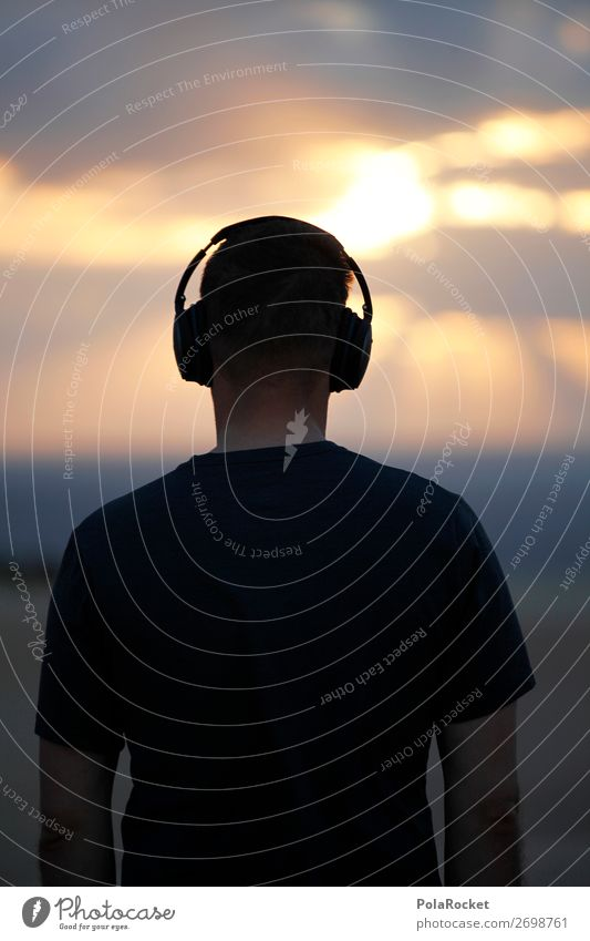 #AS# SummerSound 1 Human being Esthetic Sound engineering Tone Music Listen to music Headphones Morning Dawn The Orient Acoustic Listening Sense of hearing