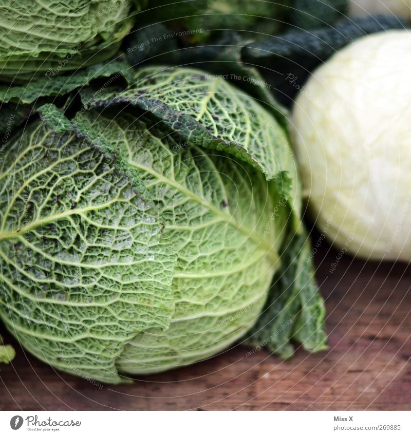 Green Food Nutrition Vegetable Organic produce Vegetarian diet Market stall Cabbage Farmer's market Greengrocer Vegetable market Savoy cabbage