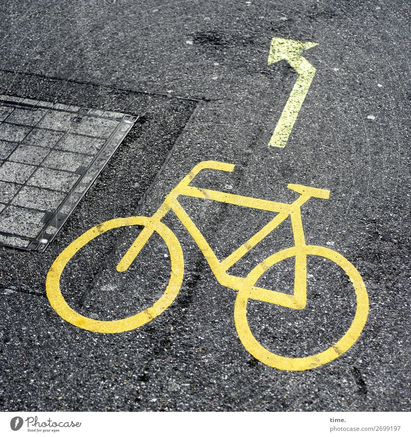Town Street Lanes & trails Design Line Transport Bicycle Communicate Cycling Discover Planning Protection Safety Asphalt Arrow Concentrate