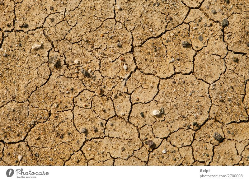 Texture cracked, dry the surface of the earth. Summer Sun Environment Nature Earth Sand Climate Climate change Weather Drought Dirty Hot Natural Brown Death