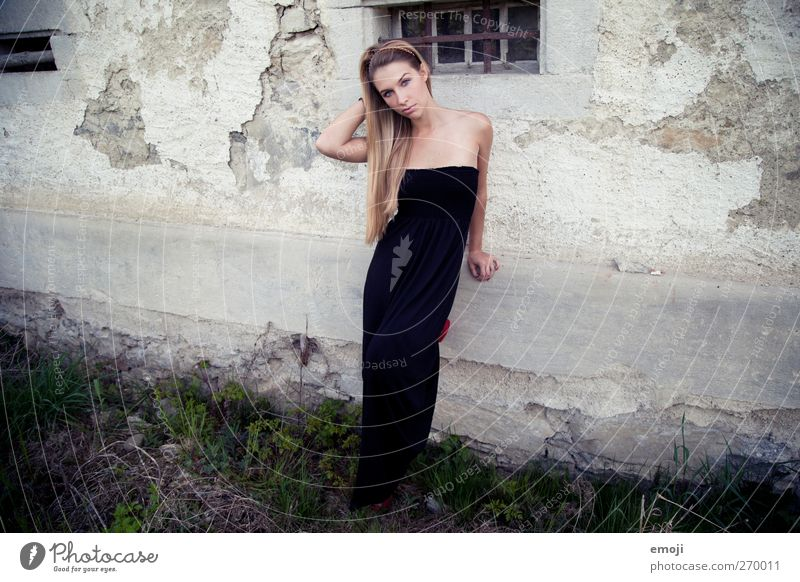 Human being Youth (Young adults) Beautiful Adults Eroticism Fashion Young woman 18 - 30 years Dress