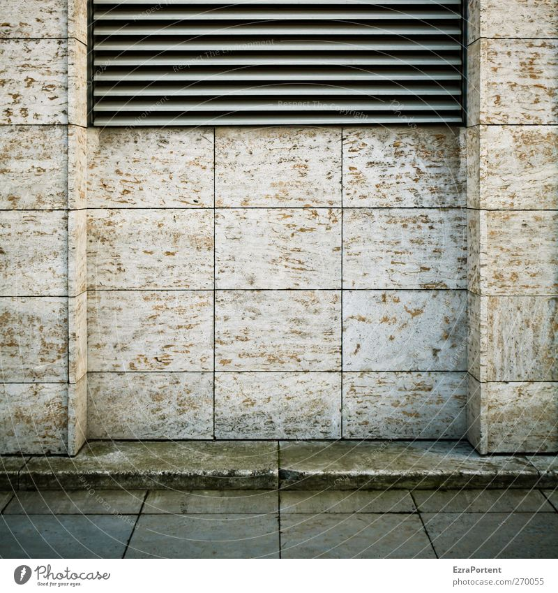 central Town Deserted House (Residential Structure) Architecture Wall (barrier) Wall (building) Facade Stone Concrete Metal Brown Gray Berlin
