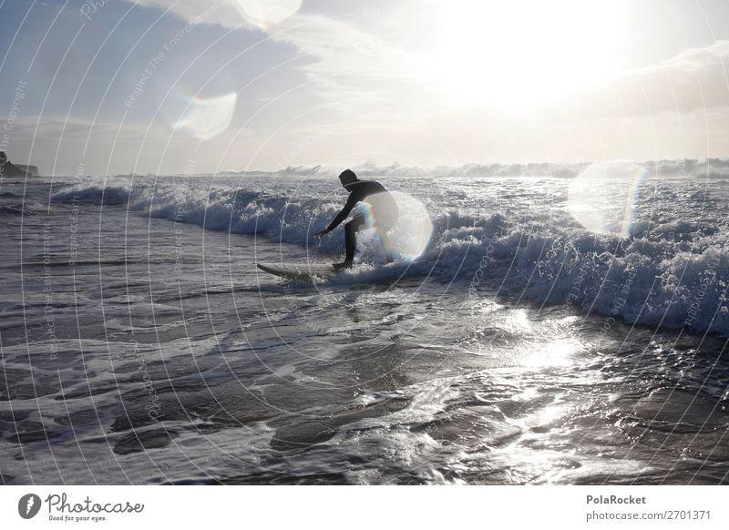 #AS# Surfer Dude Lifestyle Exceptional Waves Surfing Crest of the wave Wave break Beach Surf school Surfboard Fuerteventura Fascinating Freedom