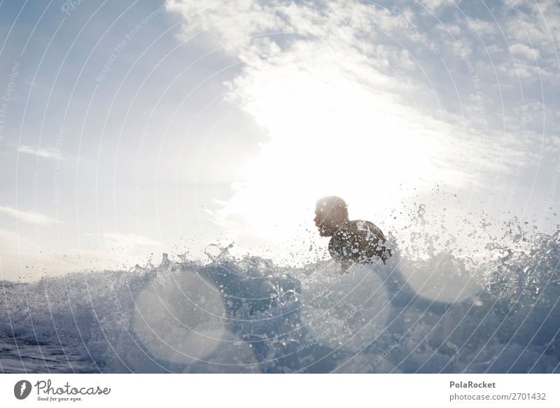 #AS# Into The White 1 Human being Esthetic Surfing Surfer Surfboard Surf school Water Inject Movement Ocean Sea water Aquatics Action Extreme sports Waves Swell