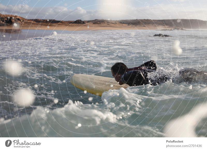 #AS# starting 1 Human being Esthetic Surfing Surfer Surfboard Surf school Waves Swell Undulation Wavy line Summer vacation Sea water Ocean Water Aquatics