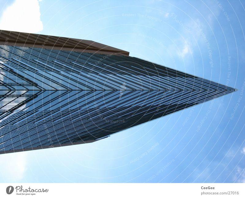 Sky Blue House (Residential Structure) Berlin Building Architecture Glass High-rise Arrow Potsdamer Platz