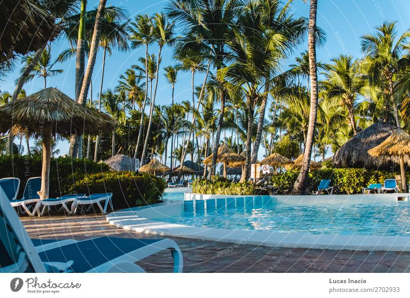 Bavaro Beaches in Punta Cana, Dominican Republic Relaxation Spa Vacation & Travel Tourism Summer Ocean Island Environment Nature Sand Tree Leaf Coast Building